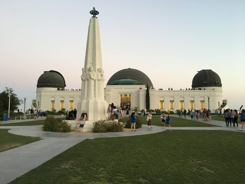 Griffith Observatory - Západ USA