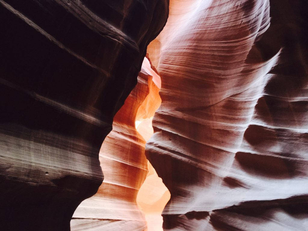 Antelope Canyon - Západ USA