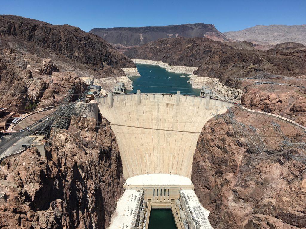 Hoover Dam - Západ USA