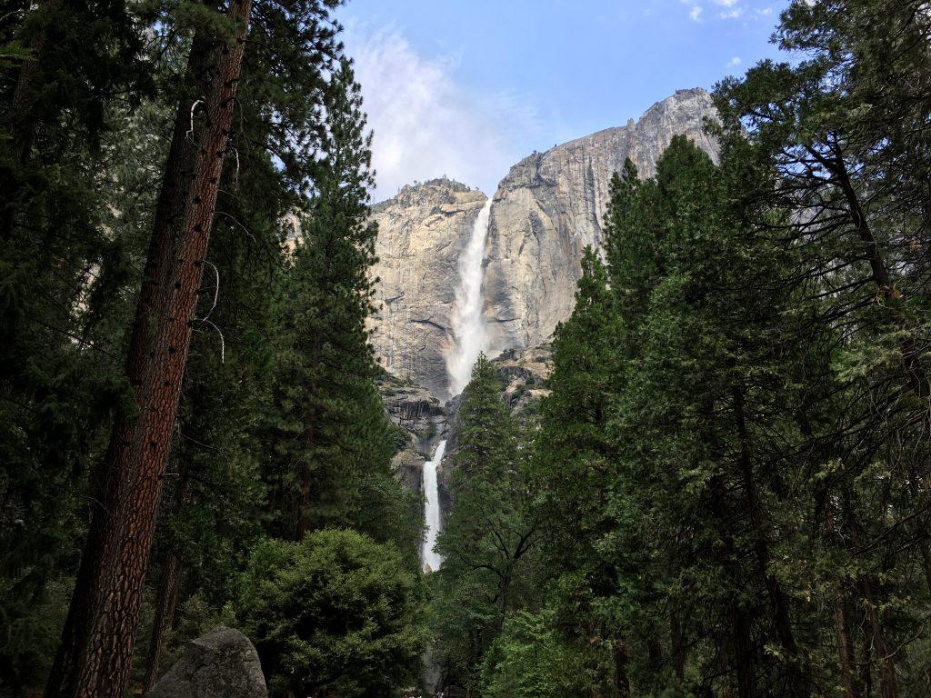 Yosemitské vodopády - Západ USA