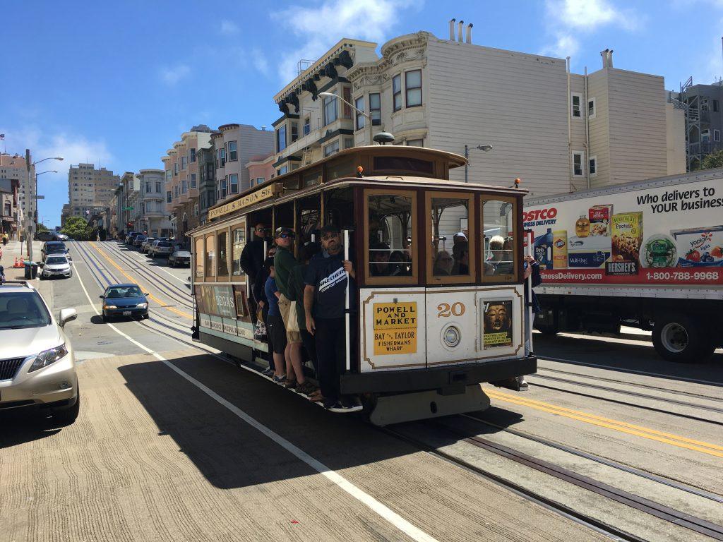 Električka v San Franciscu - Západ USA