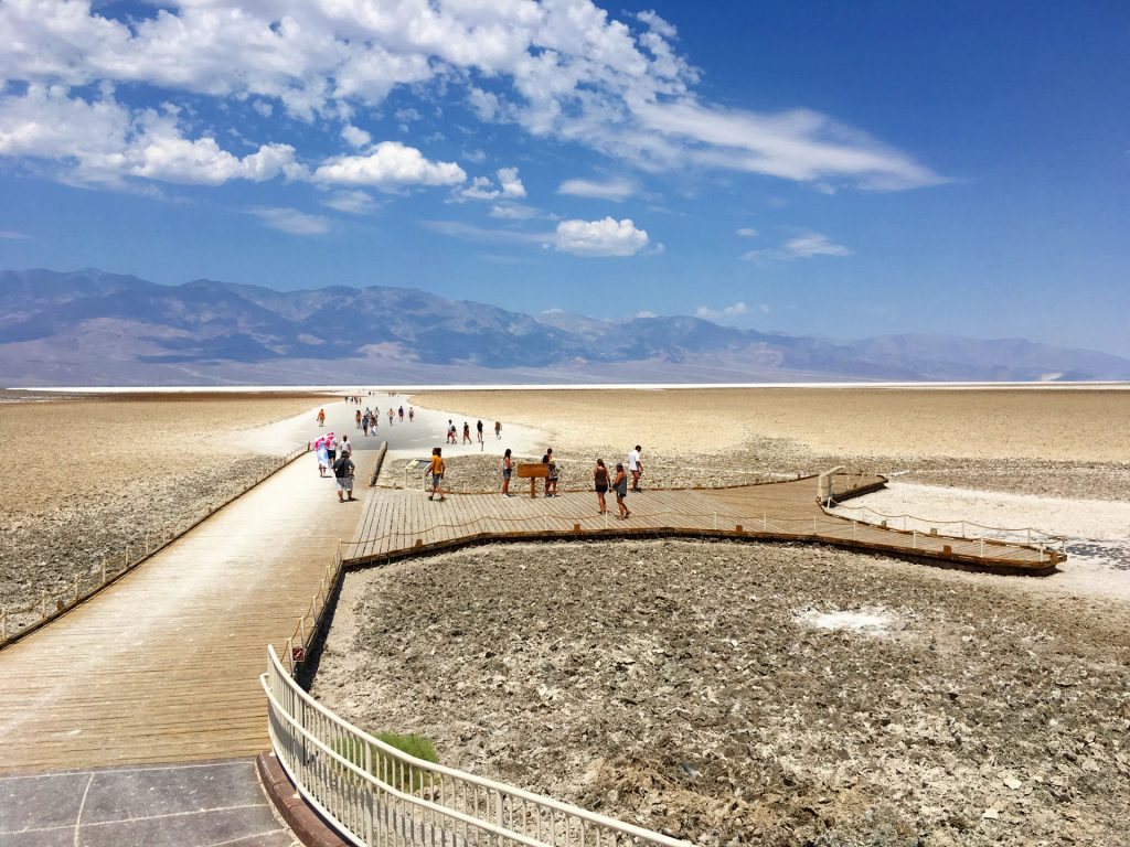 Najnižie miesto nielen Death Valley, ale celej Severnej Ameriky