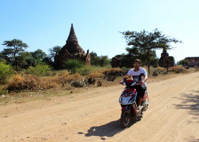 E-bike v Bagane