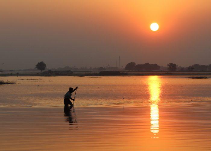 Mjanmarský rybár