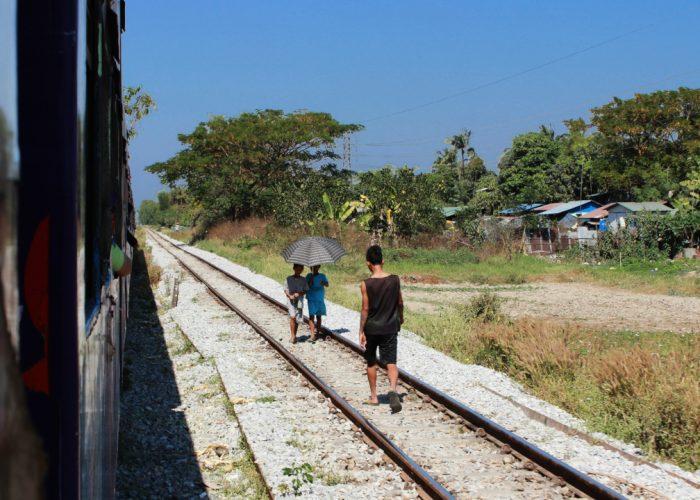 Železničný okruh v Yangone